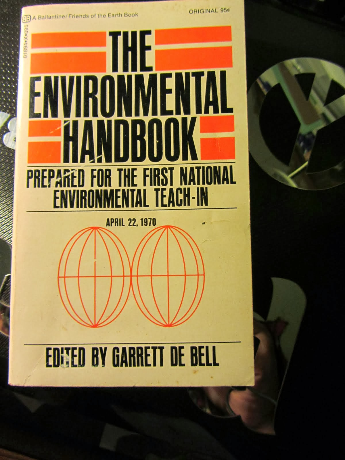 The first Earth Day Handbook