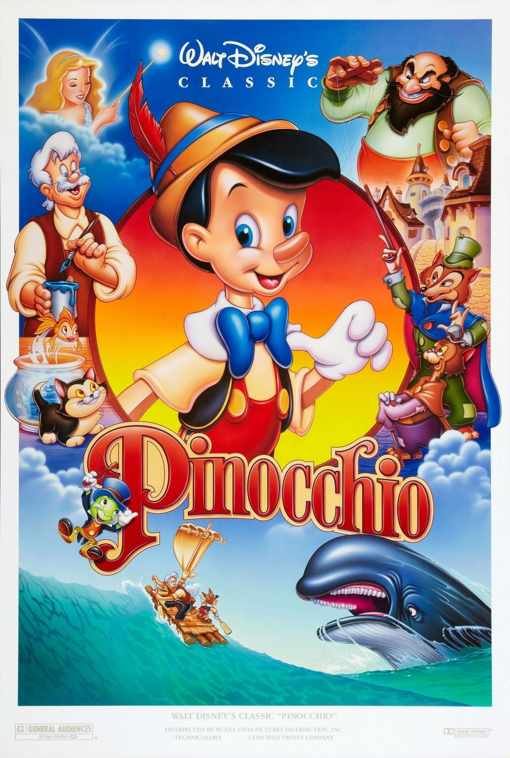 watch disney pinocchio online