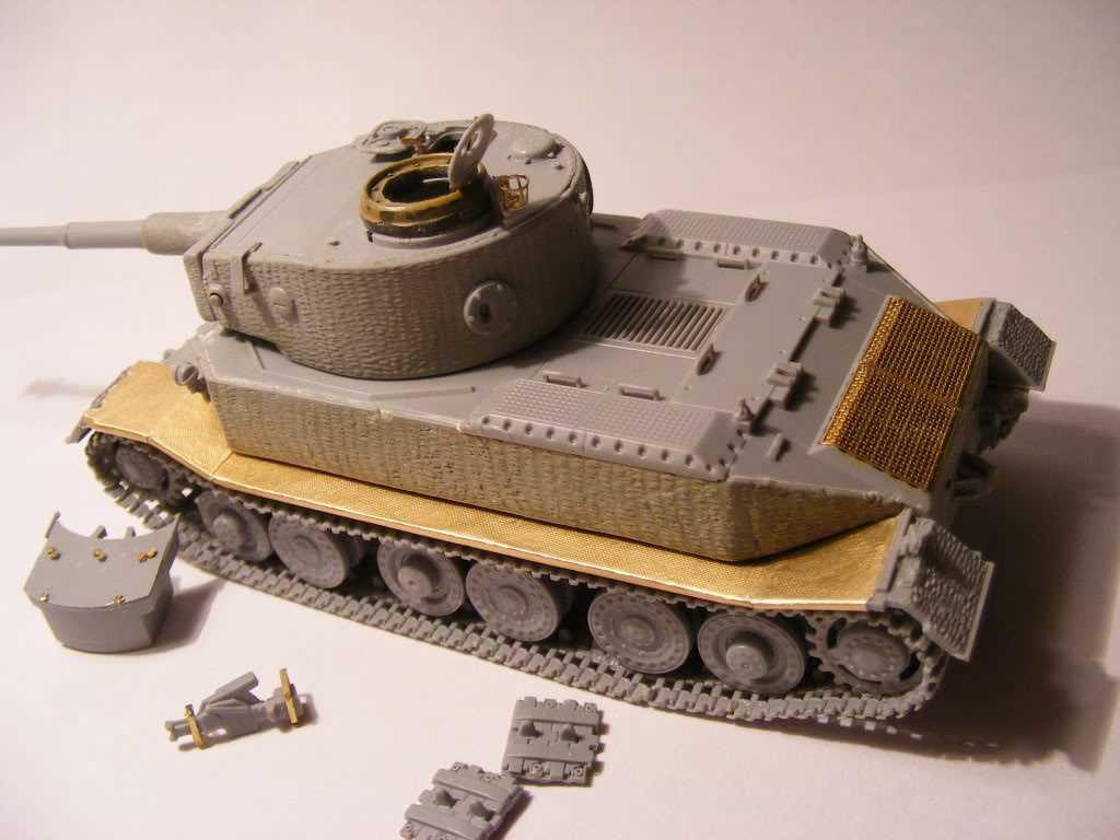 Braillebuilder Porsche Tiger I