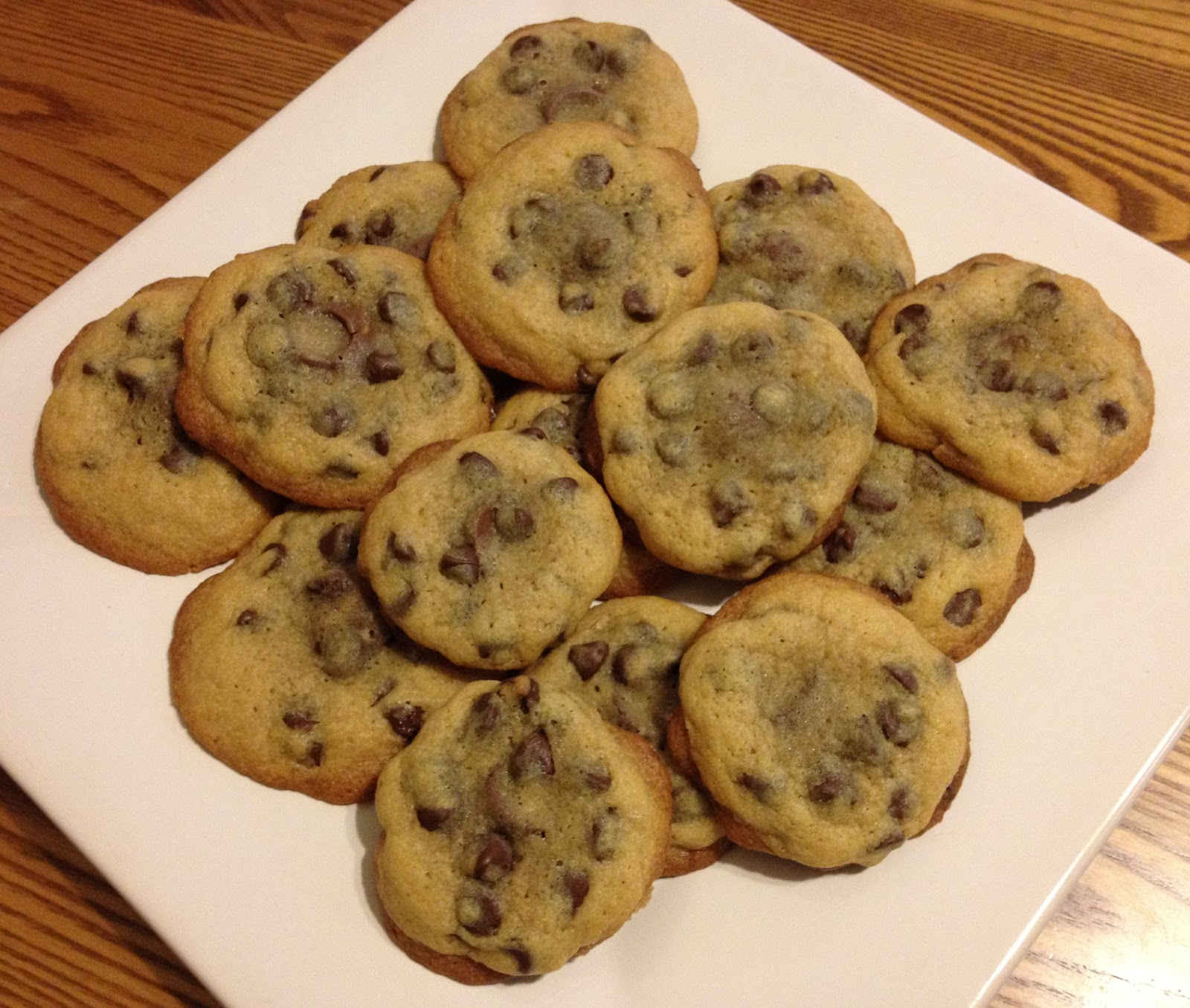 Chocolate Chip Cookies On A Plate Chocolate chip cookies stuffed
