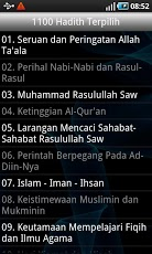 Download 1100 Hadith Terpilih Indonesian Free