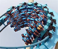 The Kraken Roller Coaster