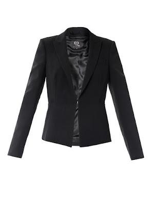 McQueen black blazer