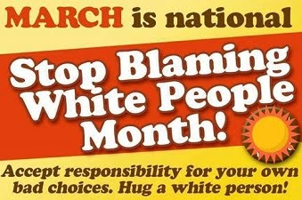 Hug a White Person