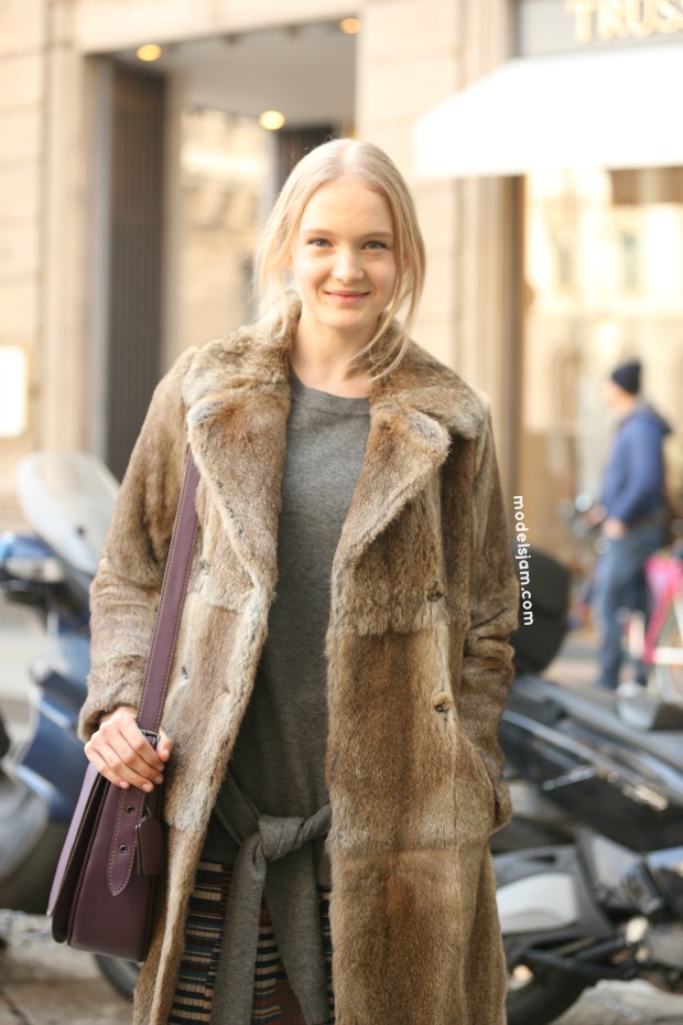 Maja Salamon, Milano, January 2016