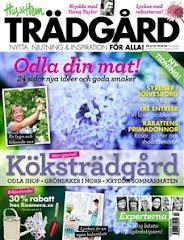 Jag och min Blogg är med i Hus&Hem Trädgård Maj 2012