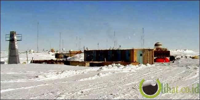 Stasiun Vostok, Antartika