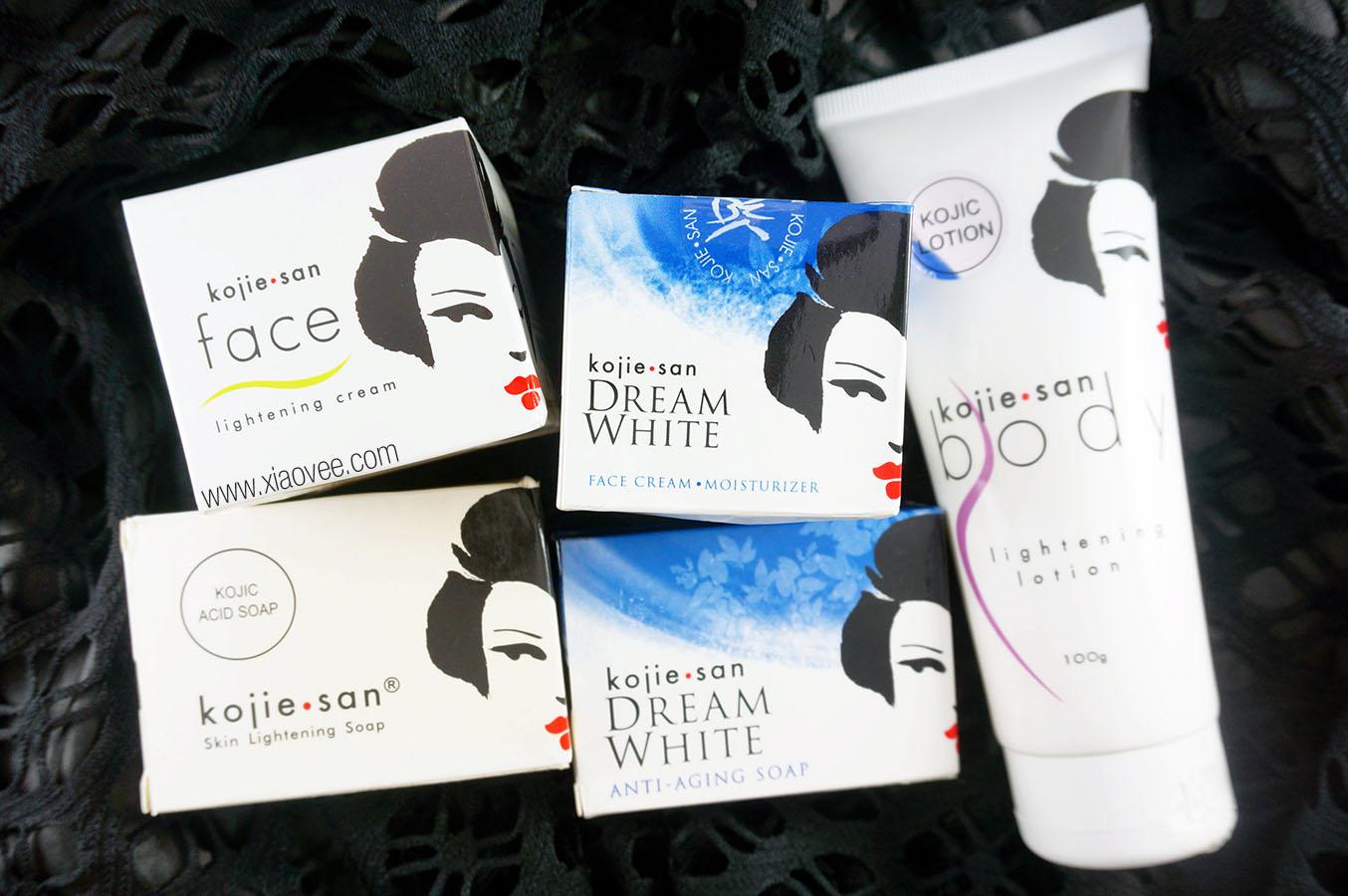 Kojiesan Skin Lightening Review, Kojiesan Dream White Review, Produk Kojiesan, Produk Pemutih wajah yang aman, produk pemutih badan aman