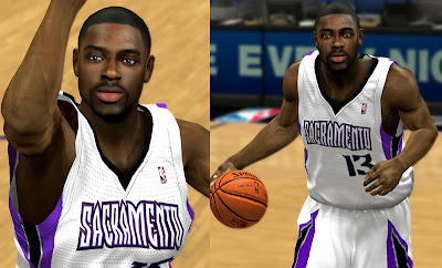 NBA 2K13 Tyreke Evans Realistic Face NBA2K Mods