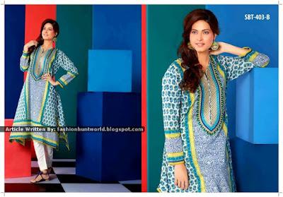 Sadabhaar Kurti Eid Collection 2015 By Tawakkal Fabrics