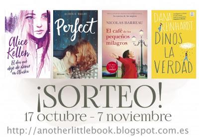 ¡SORTEO! 4 libros, 4 ganadores