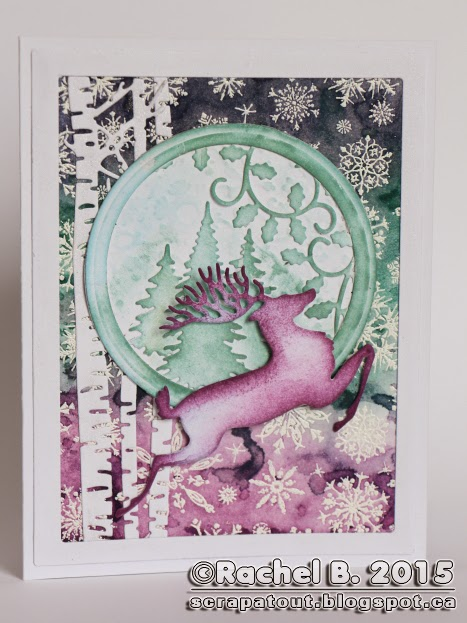 Handmade card Winter Impression Obsession