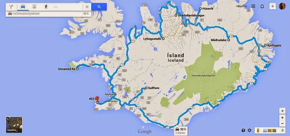 Islande France Heure De Vol