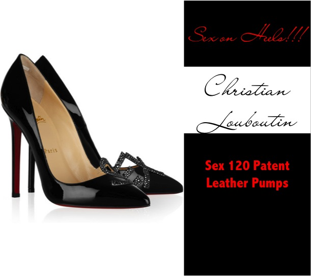 Black patent leather Christian Louboutin pumps should become the sex icons ...