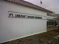 Lowongan Kerja PT. Unicraft Nagura Indonesia