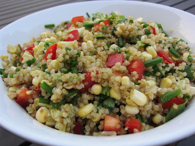 Cooker Girl: Toasted Quinoa, Corn and Avocado Salad
