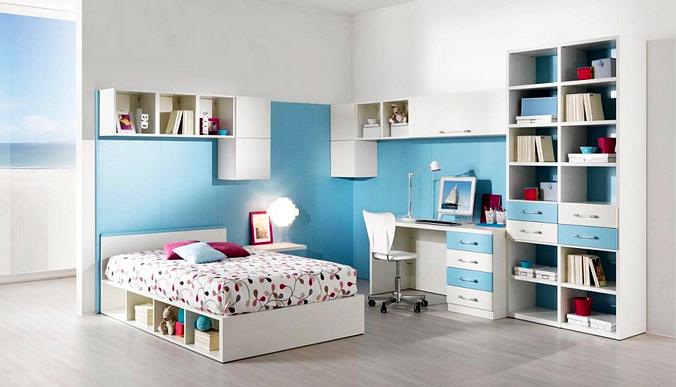 10 ide desain kamar tidur anak perempuan remaja