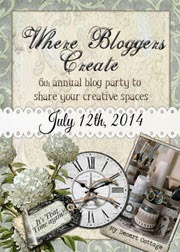 Where Bloggers Create 2014!!