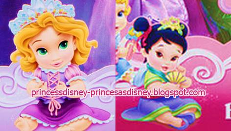 Princesas Disney: Nuevas imágenes de Rapunzel y Mulan de bebés ...
