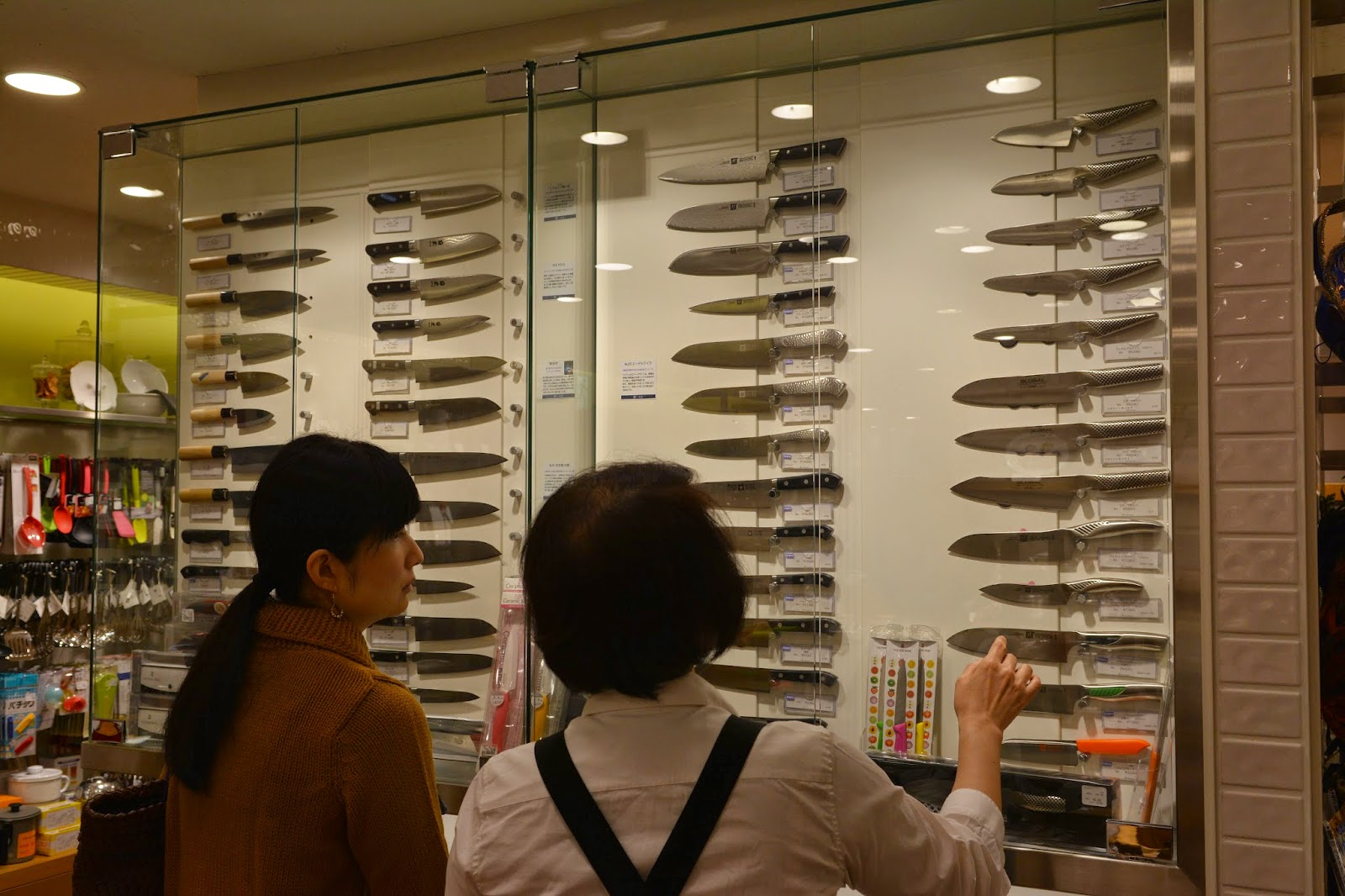 Global Knives Tokyu Department Store