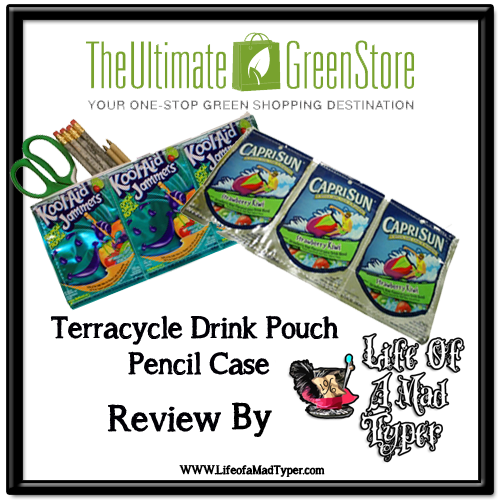 The Ultimate Green Store: Terracycle Drink Pouch Pencil Case