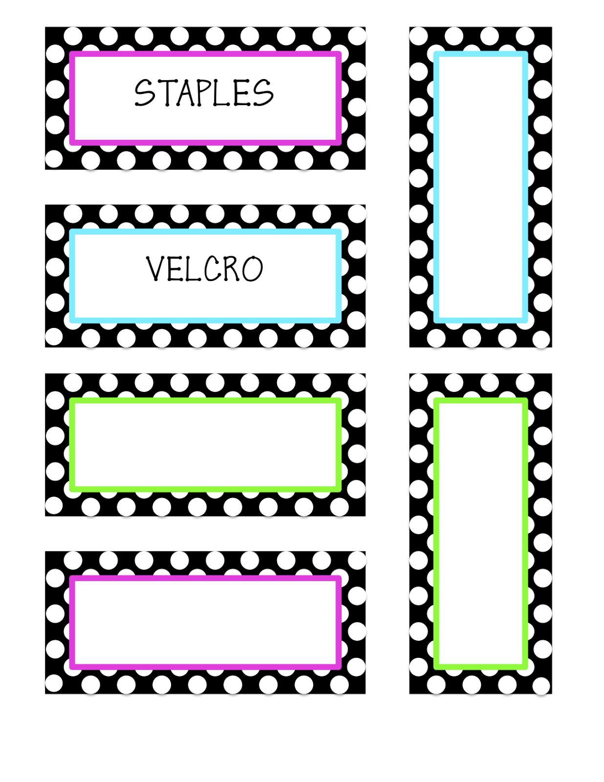 Free Classroom Decoration Templates ~ Classroom decor more teacher toolbox labels