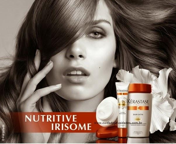 Lançamento Kérastase Irisome para cabelos secos