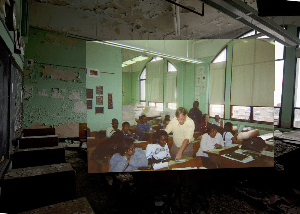Doctor Ojiplático. Detroit. Cass Technical High School. Then And Now