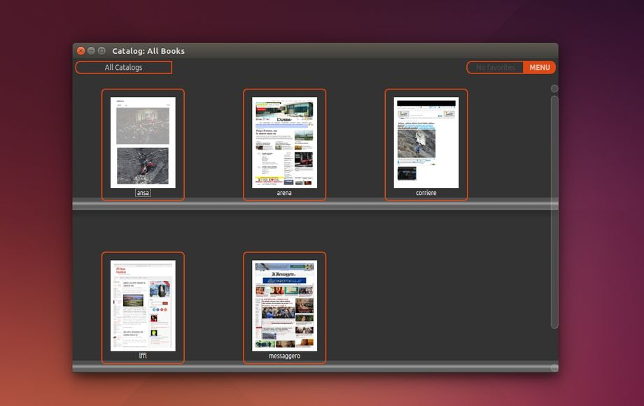 Great Little Book Shelf in Ubuntu
