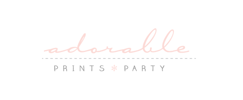 Adorable Prints and Parties