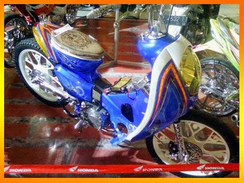 Modifikasi Honda Astrea Grand Keren