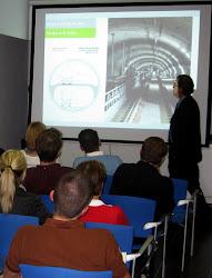 L9 Metro Barcelona Arbetsplatsbesök