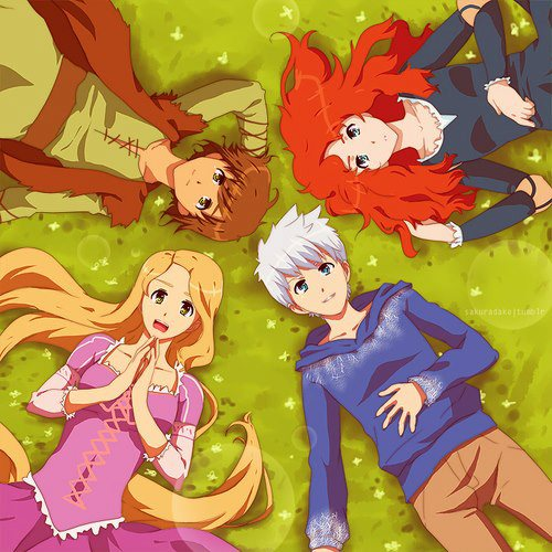 Love is an Escape ♥: The Big Four : Anime and Chibi