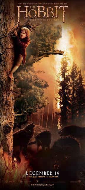 El Hobbit: Un viaje Inesperado - Banner wargos