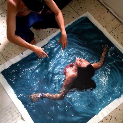 Gustavo Seniman Yang Membuat Lukisan Tampak Nyata 5