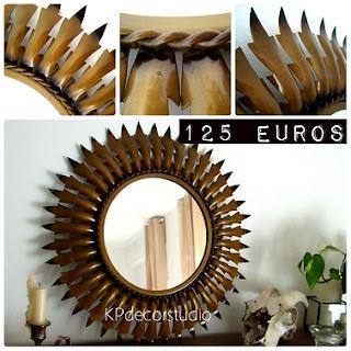 Decoración de paredes. Espejos online baratos de época. Espejos antiguos