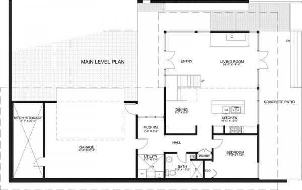 Casa moderna de dos pisos estilo minimalista proyectos - Planos de casas minimalistas ...