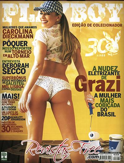 Grazi Massafera Revista Playboy