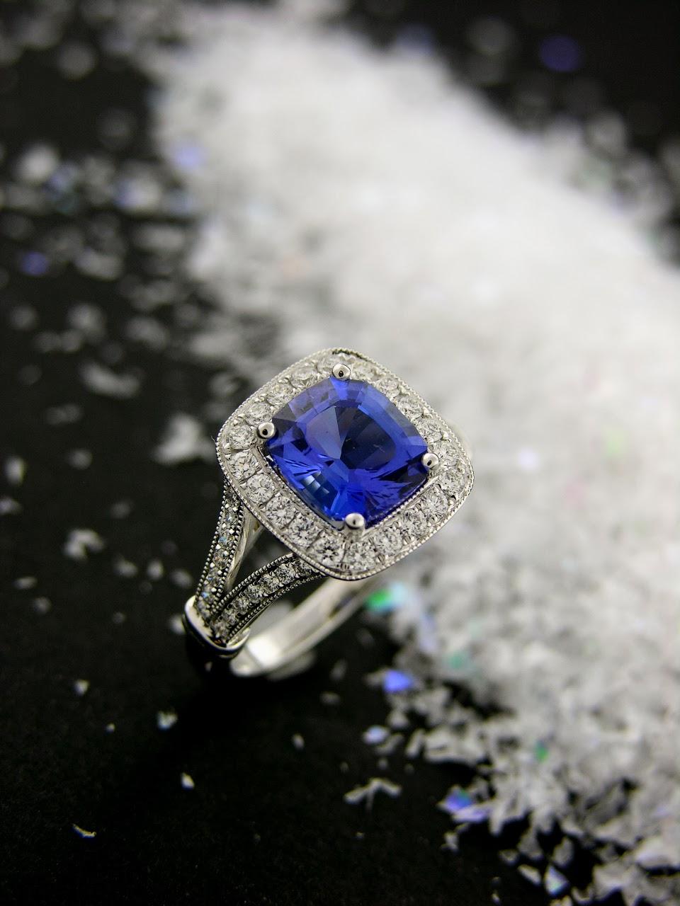 facet foundry jewelry studio   tanzanite delight