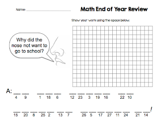 https://www.teacherspayteachers.com/Product/4th-Grade-Math-End-of-Year-Review-Task-Cards-includes-riddle-answer-document-1309561