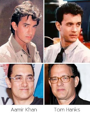 Aamir Khan, Tom Hanks