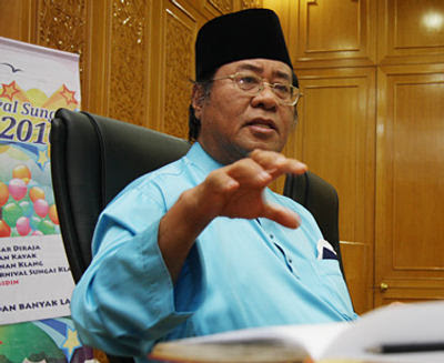 Khalid Ibrahim Angkat Sumpah Menteri Besar Selangor