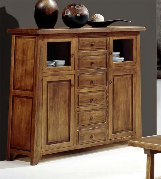 La web de la decoracion y el mueble en la red muebles for Mueble auxiliar rustico