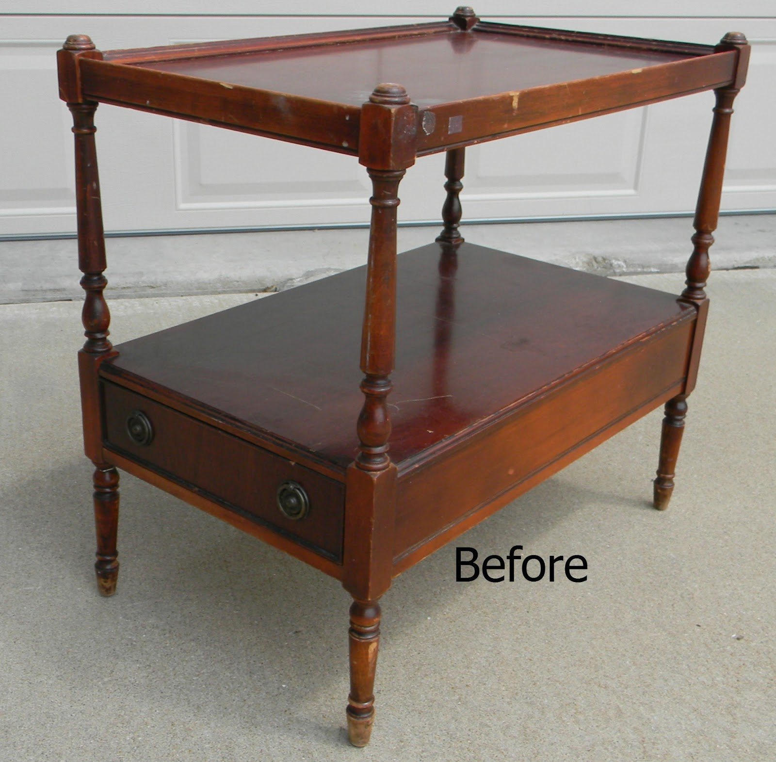 Forever Decorating How to Easily Fix a Broken Furniture Leg