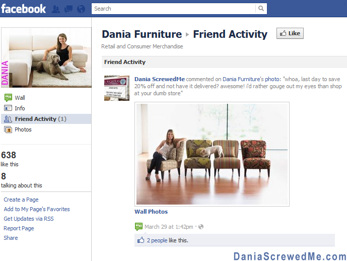 How dania furniture ruined my life forever dania for H furniture facebook