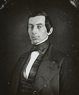 Believed to be the image of Abraham Lincoln circa 1840.