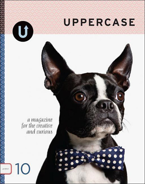 Uppercase French Bulldog Cover