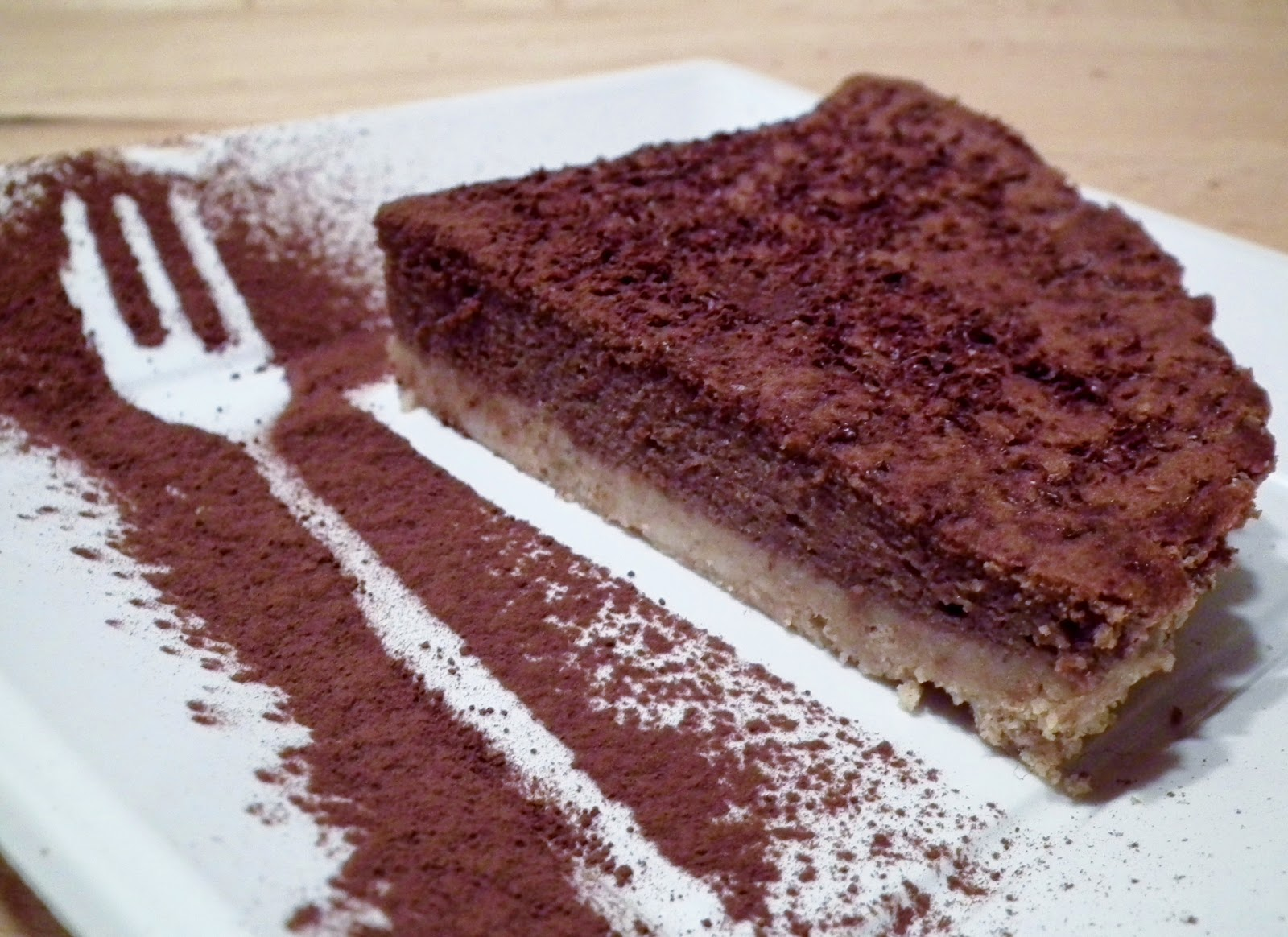 cheesecake light a modo mio ( ricotta e cacao amaro)