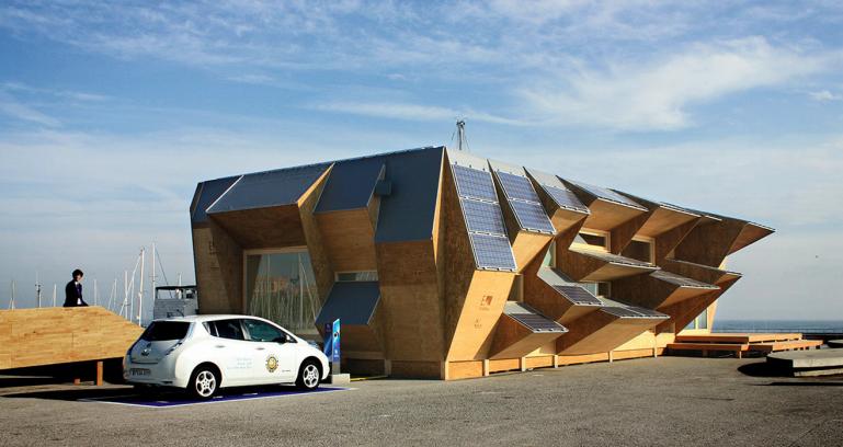 Sameera 39 s blog form follows function for barcelona 39 s solar house 2 0 - Solar barcelona ...