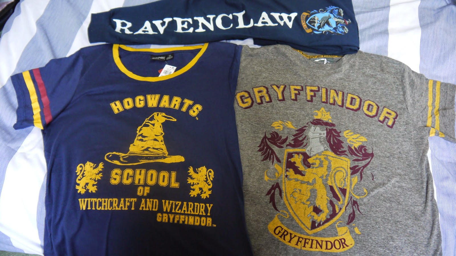 Harry Potter Gryffindor Ravenclaw T-Shirts Jogging Bottoms Clothing
